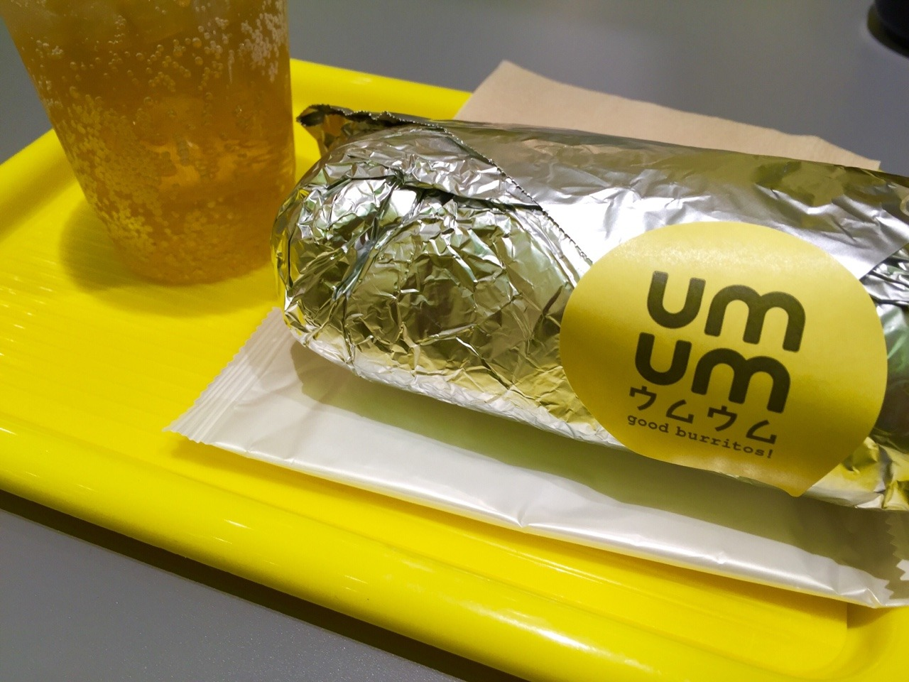 umum good burritos! @丸の内