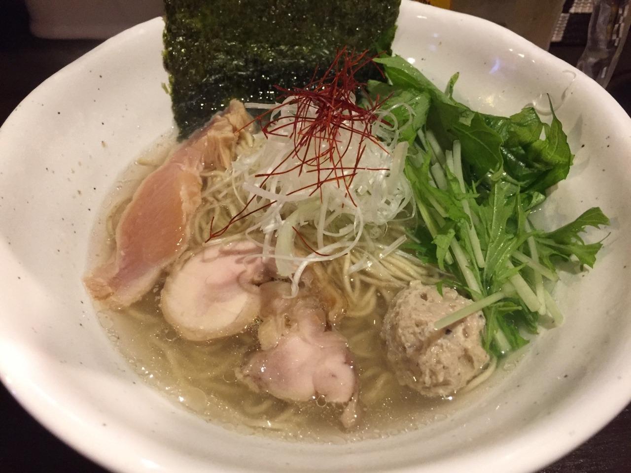 La らぁ麺256. 鶏塩SOBA