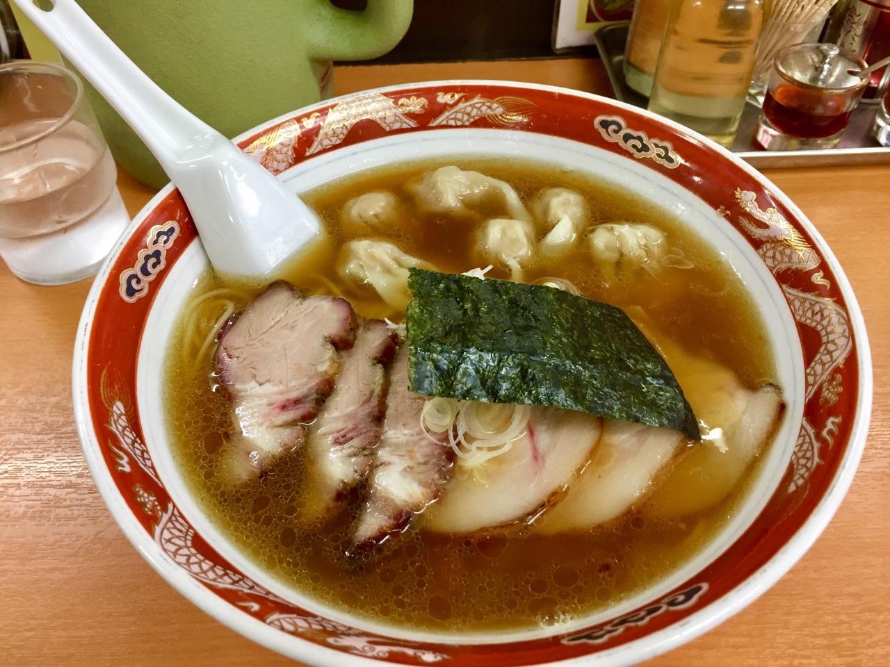 かづ屋 チャーシューワンタン麺