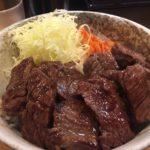 消費のタイミング / やまの ハラミ丼 肉ダブル飯大盛り