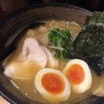 新橋怒りの鶏骨醤油 / 麺屋 武一 濃厚鶏骨醤油そば
