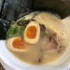 らぅめん善栄 豚骨ラーメン(味玉+海苔)