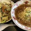 湯河原寒空ウォーク / 餃子の一番亭 湯河原店 野菜炒めラーメン