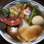 とら食堂 松戸分店 焼豚麺味玉入り生姜醤油