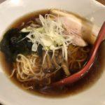 中華&Bar TENSUI 醤油ラーメン半チャーハン